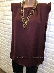 Красивая блуза р. 16 или хл