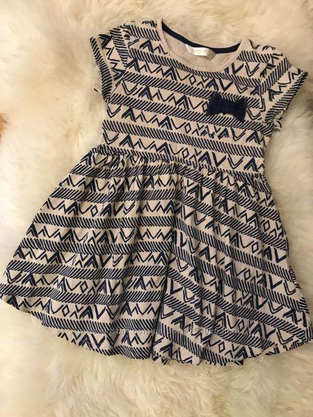 Туника-платье 4-5л