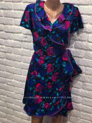 Платье модное на запах р. 12