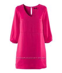 красивенное платье цвета фуксии на р. л-хл