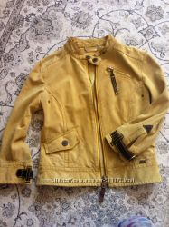 Кожаная фирменная куртка Miss Sixty хс