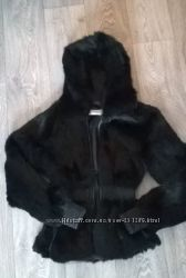 Шуба куртка кролик рекс Vericci р 42-44 Италия в идеале