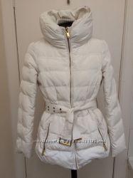 Зимнее пальто пуховик Zara р S рост 170