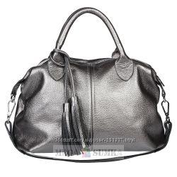 Женские кожаные сумки по оптовым ценам. Быстрое СП. Новые цвета никель, вин