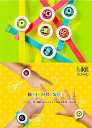 Репеллент, браслет часы Bikit Guard с натуральными эфирными маслами
