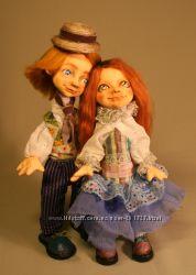 Авторская кукла пара