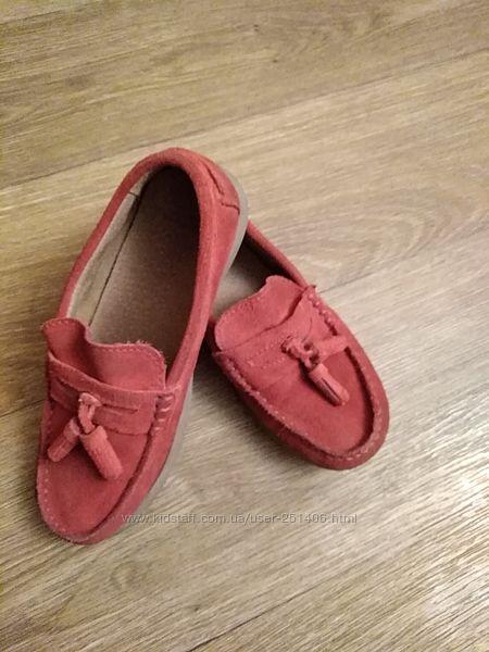 мокасины, туфли, лоферы, 22,5 стелька, замша