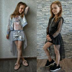 Шикарный летний нарядный костюм набор на девочку