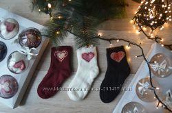 Женские новогодние носки в подарочной упаковке