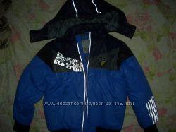 Куртка GLO-story осень-зима на мальчика 128 см ТОРГ