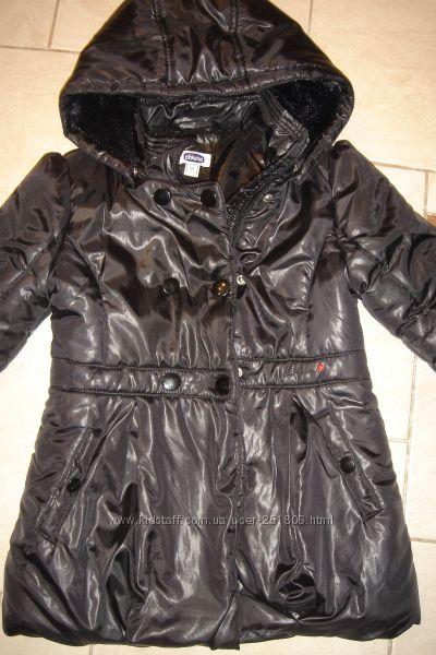 Красивая, лаковая, демисезонная, утепленная куртка CHICCO, р. 104-110.