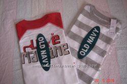 Новые футболки OLD NAVY  4Т на мальчиков.