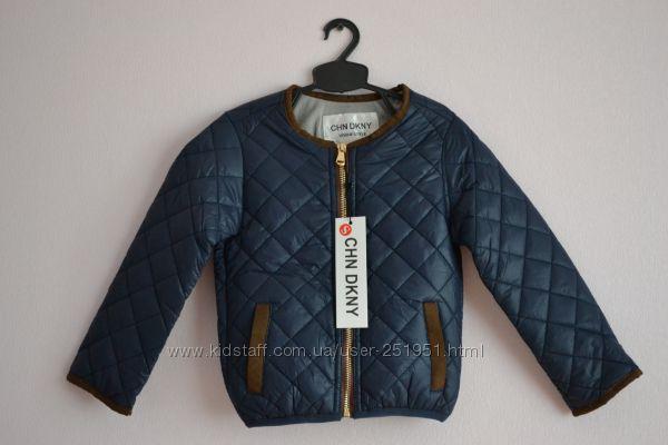 Стильная куртка DKNY для девочек от 1, 5 года до 7-ми лет
