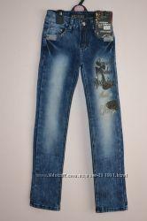 Стильные джинсы-варенки. Размеры от 6-ти до 12-ти лет.