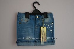 Джинсовая юбка-карандаш. Размеры от 6-ти до 12-ти лет