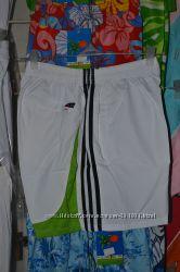 Распродажа. Белые спортивные шорты Adidas. Все размеры в наличии.