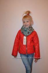 Демисезонная куртка DKNY на флисе. Размеры от 2-х до 7-ми лет.