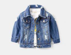 Джинсовый пиджак. Унисекс. Размеры от 2-х до 8-ми лет