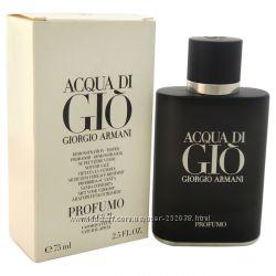 Мужская парфюмированная вода Acqua di Gio Profumo men 75ml edp tester