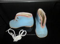 Ботинки теплые, 18 р. по стельке 11 см