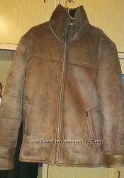 Мужская дубленка из искусственного меха р. 3XL