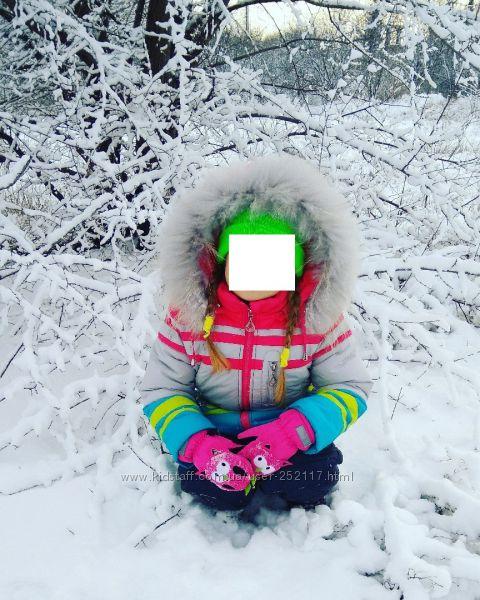 Зимний костюм Bilemi р. 104 куртка и полукомбинезон
