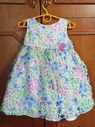 Пышное нарядное платье на 2 года