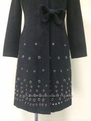 Шерстяное пальто Moschino Jeans