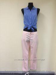 Розовые женские летние штаны Khakis by Gap