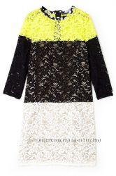 Яркое гипюровое миди платье SPORTMAX