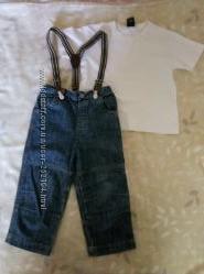 джинсы Next, р. 2-3 года.
