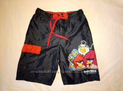 шорты плавки Next c Angry Birds, футболка Италия, 9-10 лет