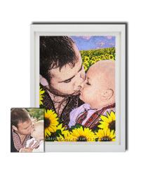 Вышитые портреты Вас и Ваших деток