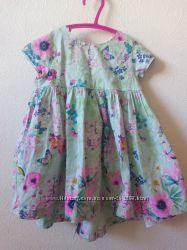 Красивое и легкое летнее платье next, идеальное состояние, подойдет до 83см