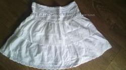 белоснежная юбочка из нежнейшего хлопка
