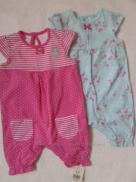 Ромперы для малышей George и др,  0-18 месяцев. Англия