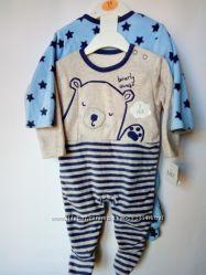 Флисовые человечки для малышей F&F, George 0-24мес.