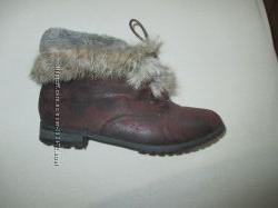 Меховые ботиночки Parfois, р. 36
