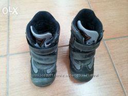 Продам бу детские зимние ботинки Minimen 21 р.
