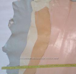 Галантерейная кожа глянец - светлые отенки
