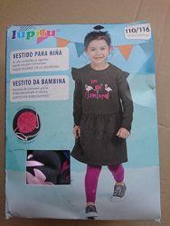 Платье трикотажное 110-116 lupilu