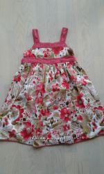 Летние платья для девочки бу  4- 6 лет
