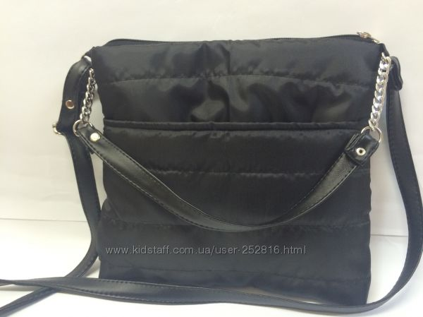 e4855635dae0 Стеганная сумка с декоративным ремешком, 98 грн. Женские сумки купить  Чернигов - Kidstaff | №24749645