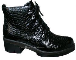 Супер модные лаковые осение ботинки