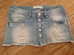 юбки новые джинсовые