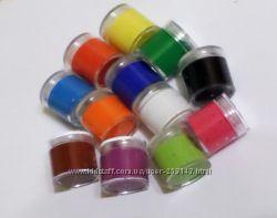 Набор неоновых красок 12 шт по 12 мл для грима боди-арта