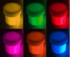 Флуоресцентные пигменты 10 мл.