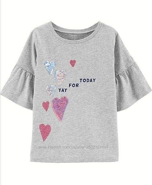 Кофта футболка Carter&acutes 6t,7t