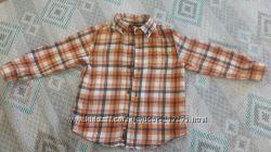 Продам байковую рубашку 3т Gymboree