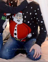 Новогодний свитер для фотосессий, кофта